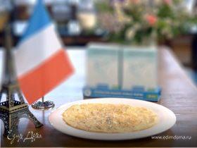 Французский омлет с кабачком
