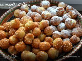 Кастаньоли (жареные шарики из сладкого теста)