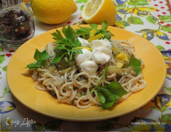Спагетти с сельдереем