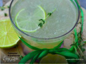 Лимонад с тимьяном и лаймом