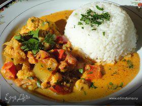 Овощная корма (Vegetable Korma)