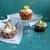 Сливочные капкейки с шоколадной начинкой и сырным кремом