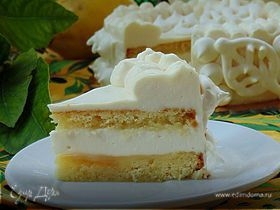 """Итальянский торт """"Лимонный восторг"""" (Delizia al limone)"""