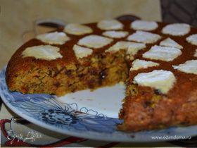 Морковный кекс с апельсином и шоколадом