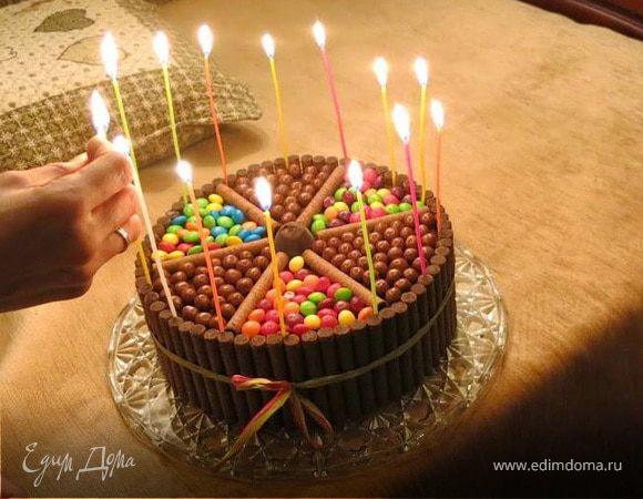 """Торт """"Шоколадный салют"""""""