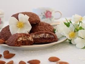 Шоколадно-злаковые талеры с ароматом ванили