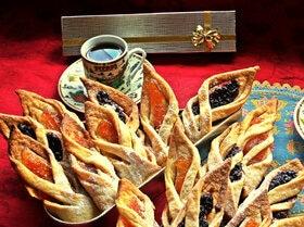 Ажурное печенье на ванильном тесте
