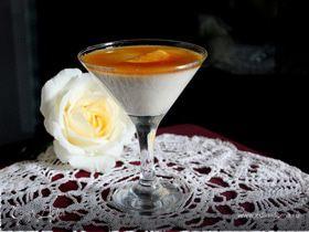 Ванильно-апельсиновая панна котта