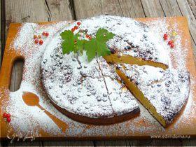 Пирог с белым шоколадом и рикоттой