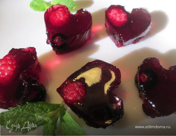 Винное желе из ягод