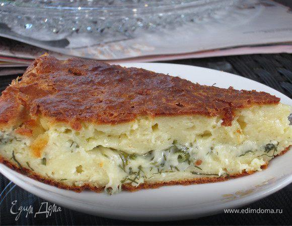 """Сырный пирог """"Хачапури"""""""