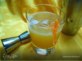 """Безалкогольный коктейль """"Цитрусовые в сборе"""" с кленовым сиропом"""
