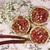 Овсяные тарталетки с клубникой и ревенем
