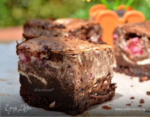"""Чизкейк """"Брауни"""" – кулинарный рецепт"""
