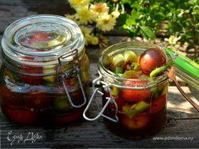 Маринованные томаты с халапеньо