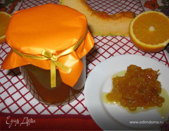 Тыквенно-апельсиновое варенье