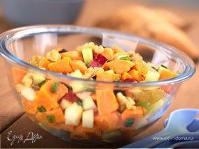 Замечательный зимний салат