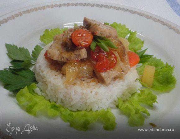 Кисло-сладкая свинина по-тайски