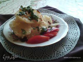 Гратен из запеченного картофеля