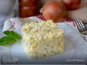 Луковый салат по-польски