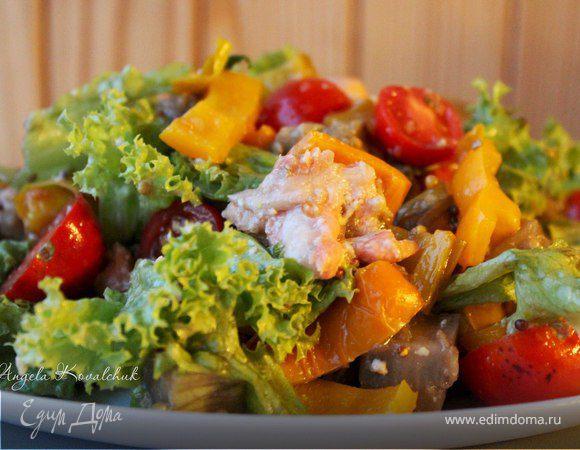Вкуснейший салат из баклажанов