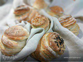 Слоёные булочки
