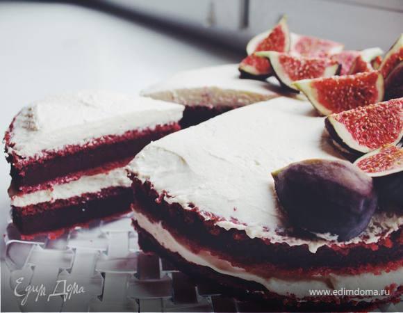 Красный бархатный торт (Red Velvet Cake)