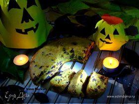 Тыквенный кекс с шоколадом и изюмом