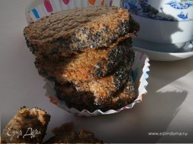 Печенье с маком на гречневой муке
