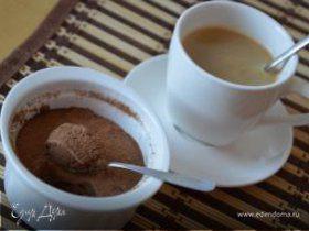 Легкий шоколадный мусс