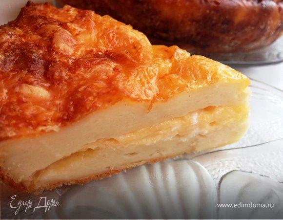 Дважды сырный пирог