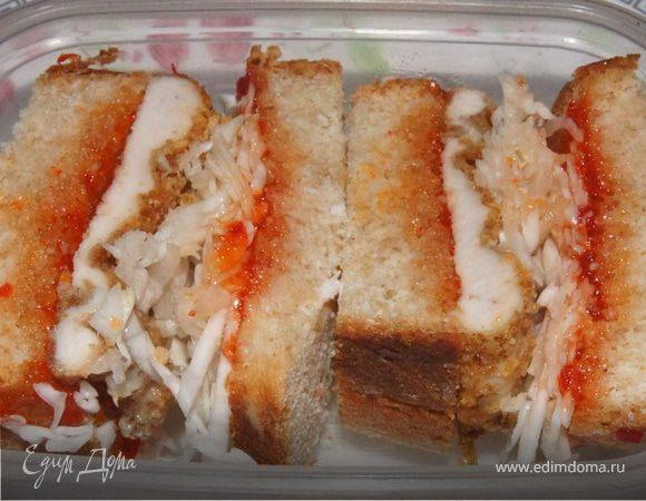 Японский сэндвич (Katsu sando)