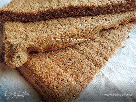 Нежнейший ореховый бисквит
