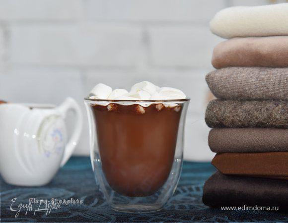 Какао с ромом и чили