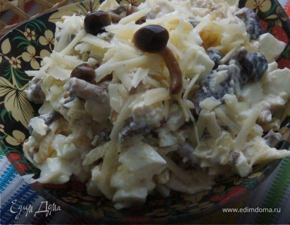 """Салат """"Тигриная пора"""" – кулинарный рецепт"""