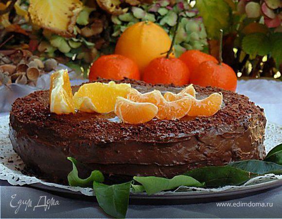 """Итальянский торт """"Шоколад и Апельсин"""""""