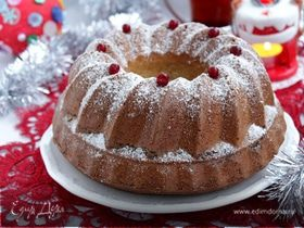 Ореховый рождественский кекс