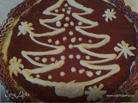 Новогодний Киевский торт