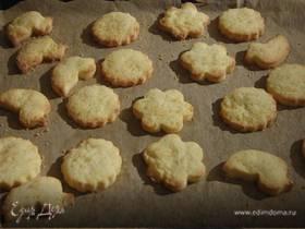 Рассыпчатое печенье на желтках