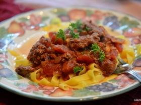 Сицилийский мясной соус для пасты