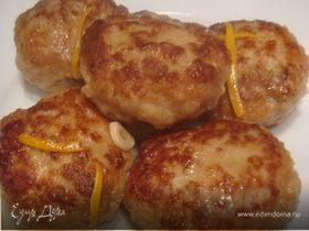Индюшиные котлетки в лимонном соусе