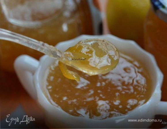 Домашний лимонный джем