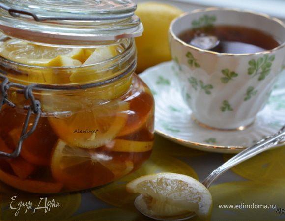 Лимоны с медом и имбирем