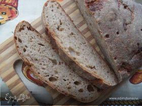 Чешский деревенский хлеб на ржаной закваске