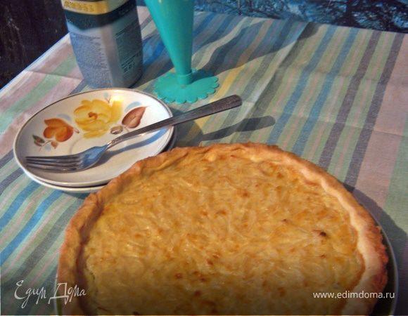 Домашний луковый пирог