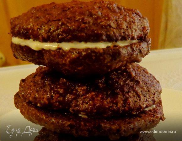 Итальянское шоколадное печенье «Baci»