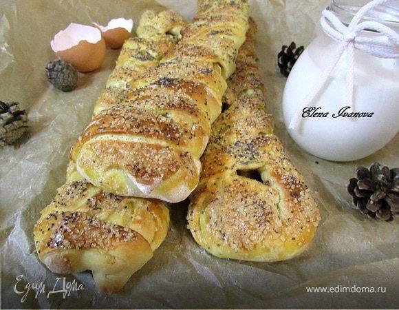 Яблочные пироги-багеты