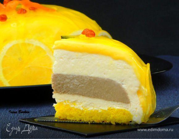 Торт-мусс «Лимонный тирамису»