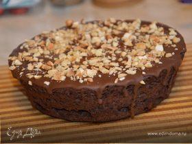 Кекс шоколадный в шоколаде от весенней хандры