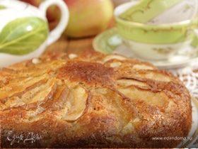 Скандинавский яблочный пирог с миндалем